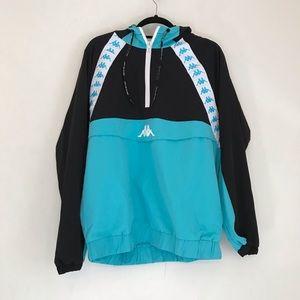 Kappa Authentic Bakit Anorak Turquoise Jacket